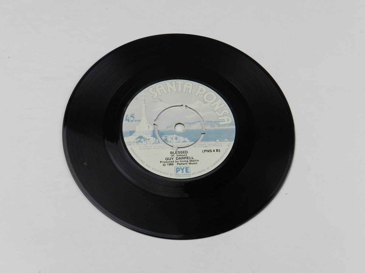 Guy Darrell – Ive Been Hurt vinyl record side B scaled