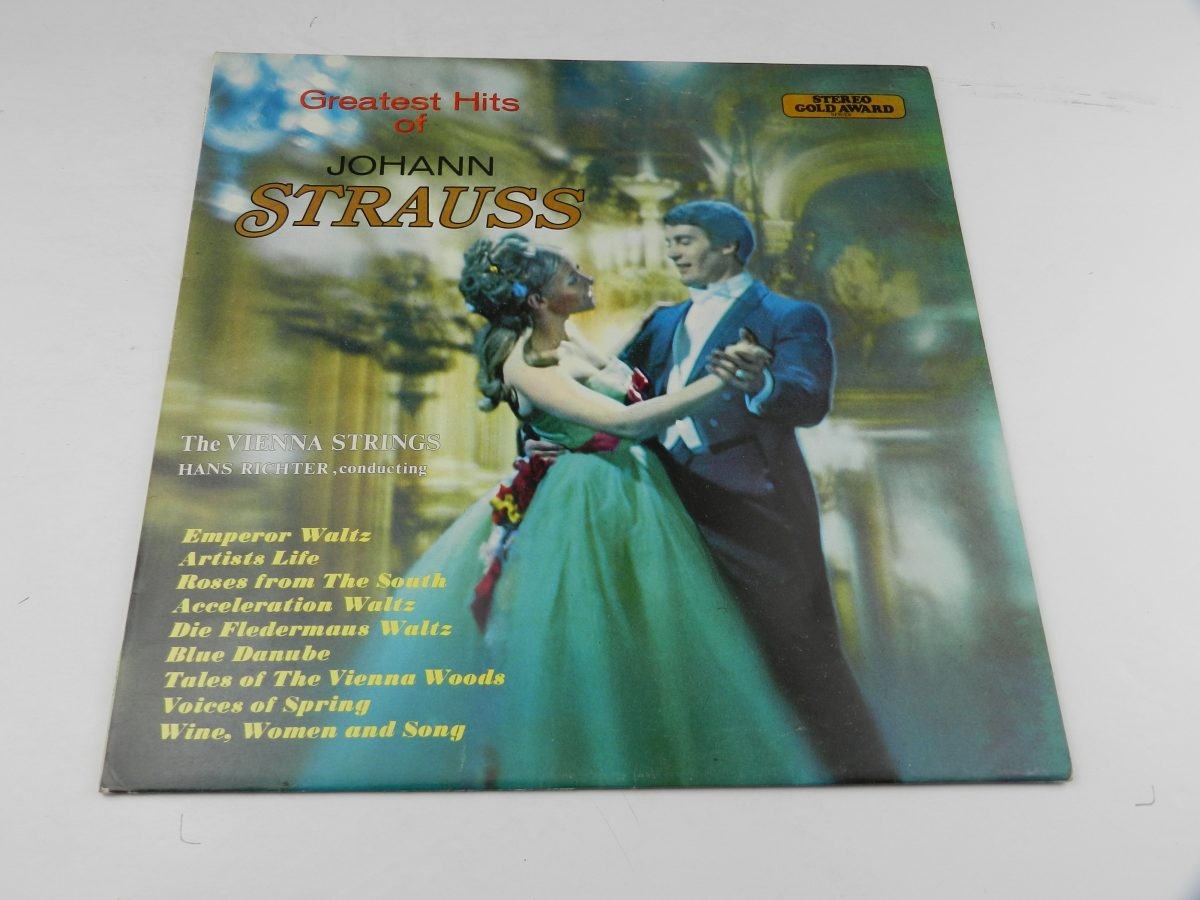 Hans Richter Conducting The Vienna Strings – Greatest Hits Of Johann Strauss vinyl record sleeve scaled