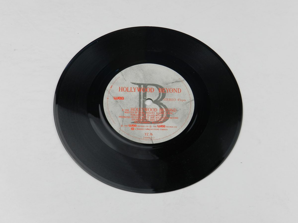Hollywood Beyond – Whats The Colour Of Money vinyl record side B scaled