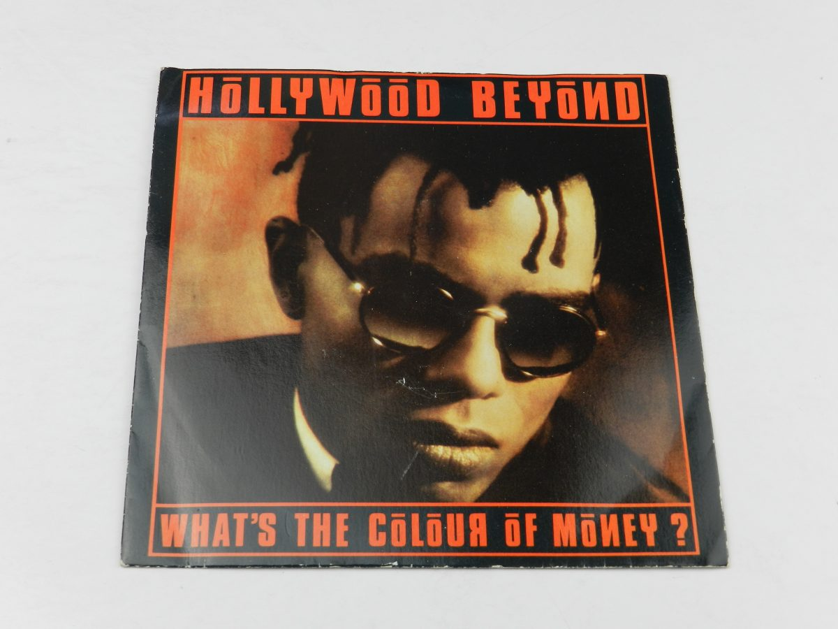 Hollywood Beyond – Whats The Colour Of Money vinyl record sleeve scaled
