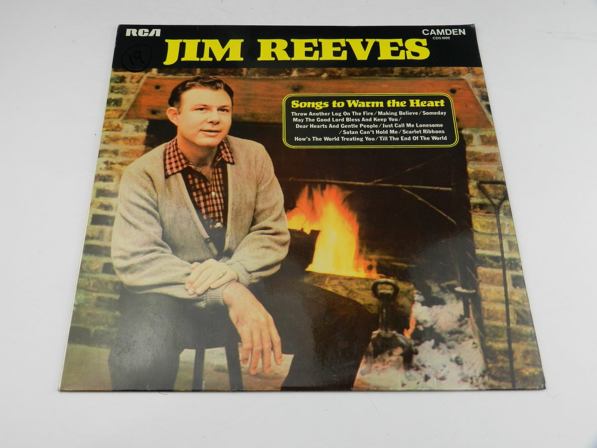 Jim Reeves – Songs To Warm The Heart vinyl record sleeve scaled