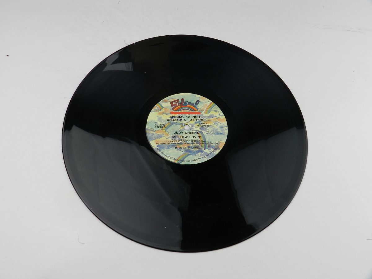 Judy Cheeks – Mellow Lovin vinyl record side A scaled