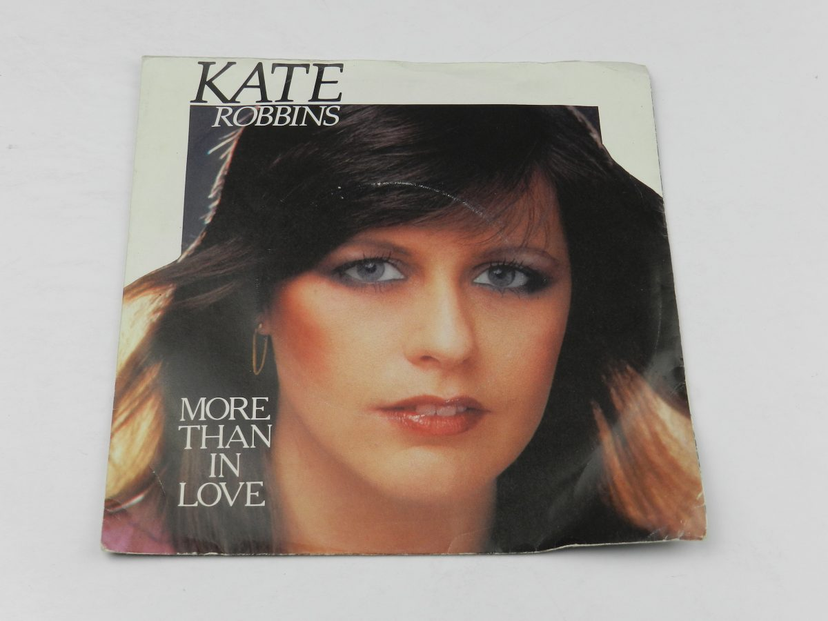 Kate Robbins – More Than In Love vinyl record sleeve scaled