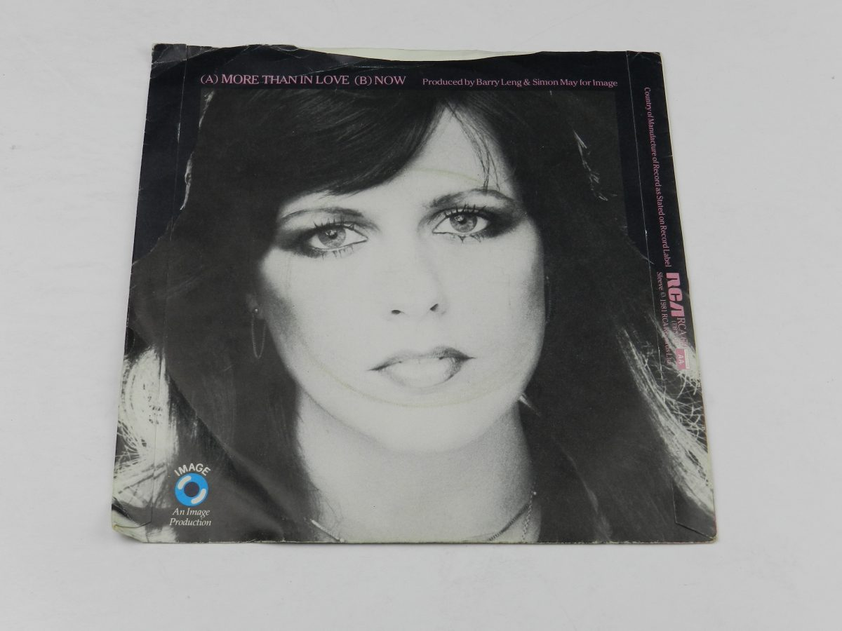 Kate Robbins – More Than In Love vinyl record sleeve rear scaled