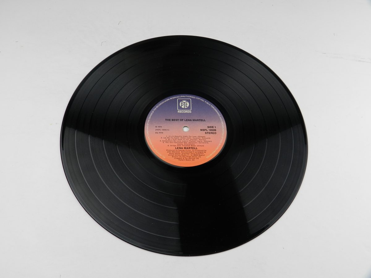 Lena Martell – The Best Of Lena Martell vinyl record side A scaled