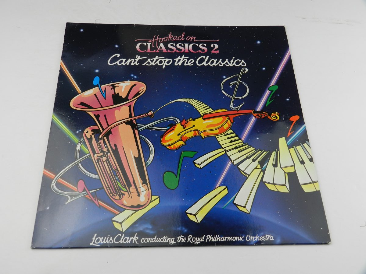 Louis Clark Conducting The Royal Philharmonic Orchestra – Hooked On Classics 2 Cant Stop The Classics vinyl record sleeve scaled