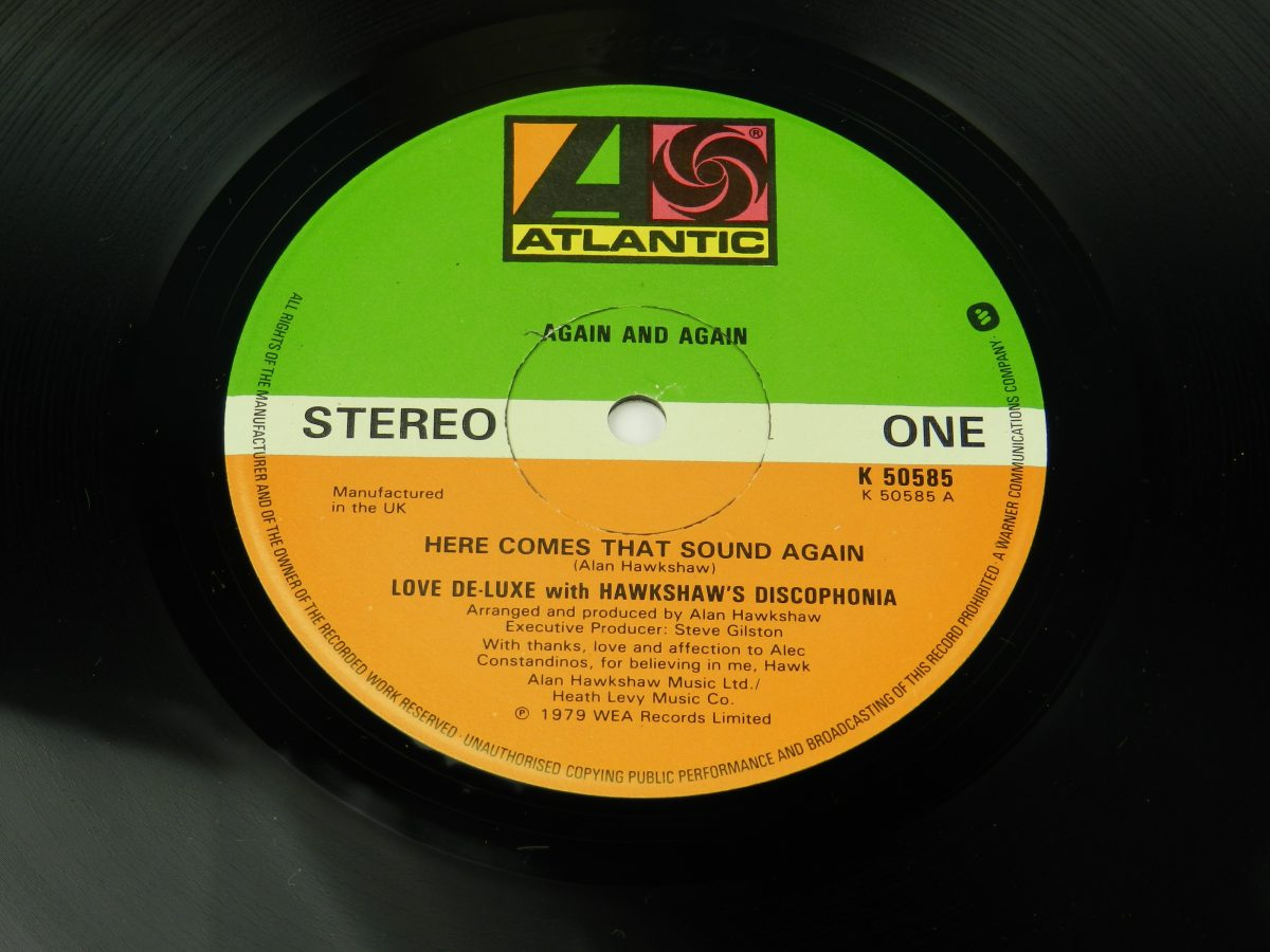 Love De Luxe – Again And Again vinyl record side A label scaled