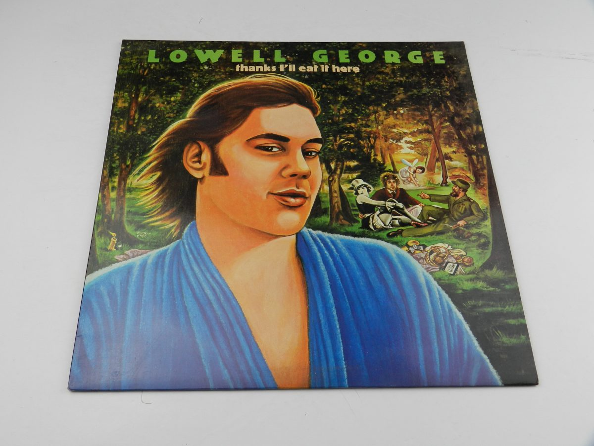 Lowell George – Thanks Ill Eat It Here vinyl record sleeve scaled