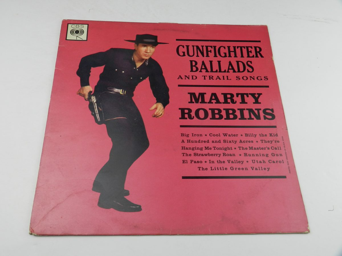 Marty Robbins – Gunfighter Ballads And Trail Songs vinyl record sleeve scaled
