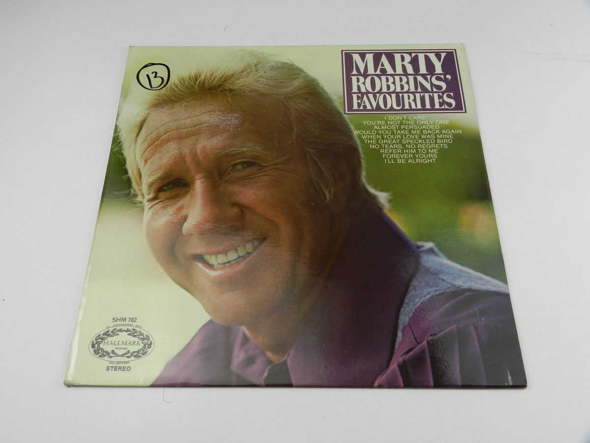 Marty Robbins – Marty Robbins Favourites vinyl record sleeve scaled
