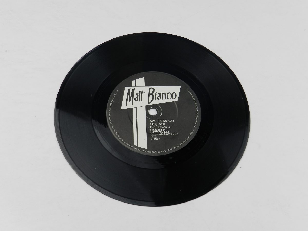 Matt Bianco – Sneaking Out The Back Door vinyl record side B scaled