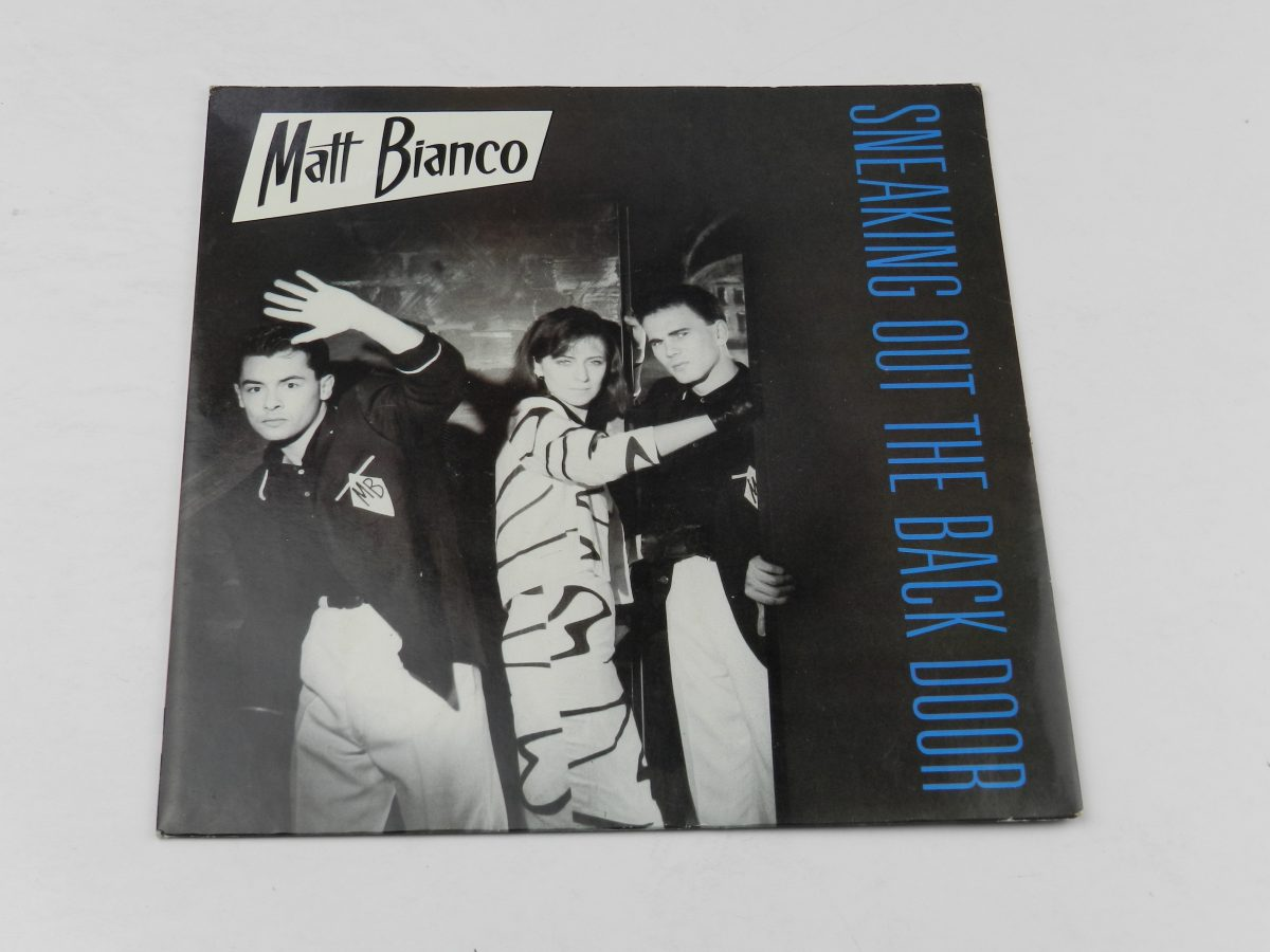 Matt Bianco – Sneaking Out The Back Door vinyl record sleeve scaled