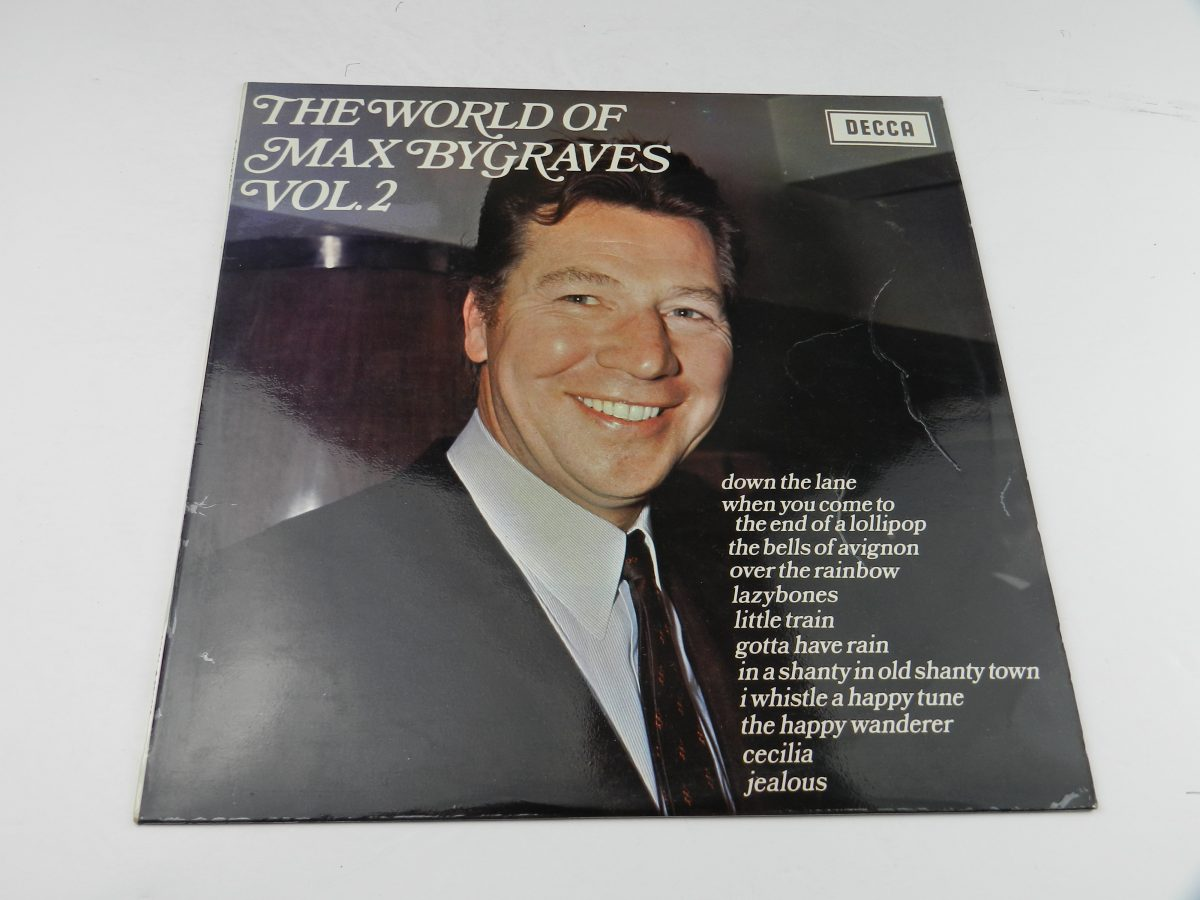 Max Bygraves – The World Of Max Bygraves Vol 2 vinyl record sleeve scaled