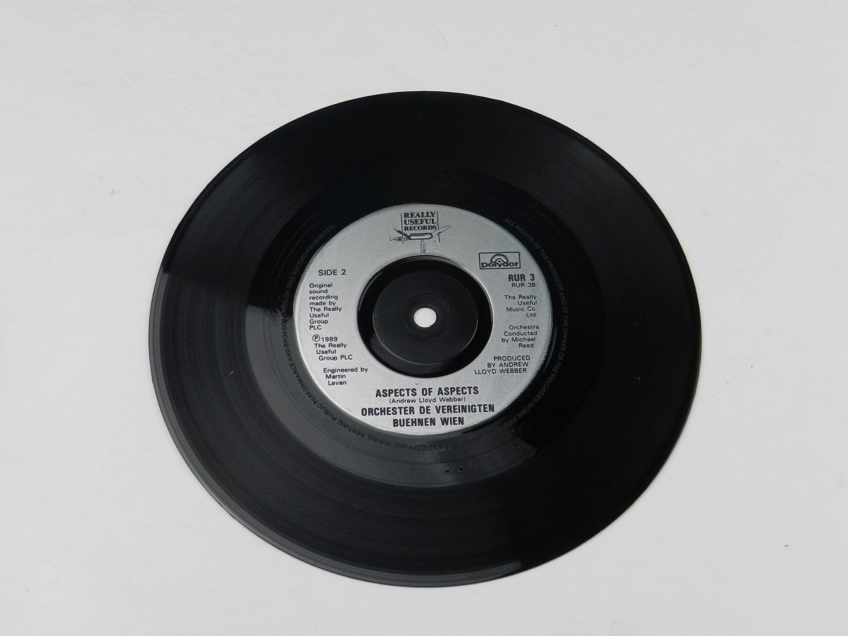 Michael Ball – Love Changes Everything vinyl record side B scaled