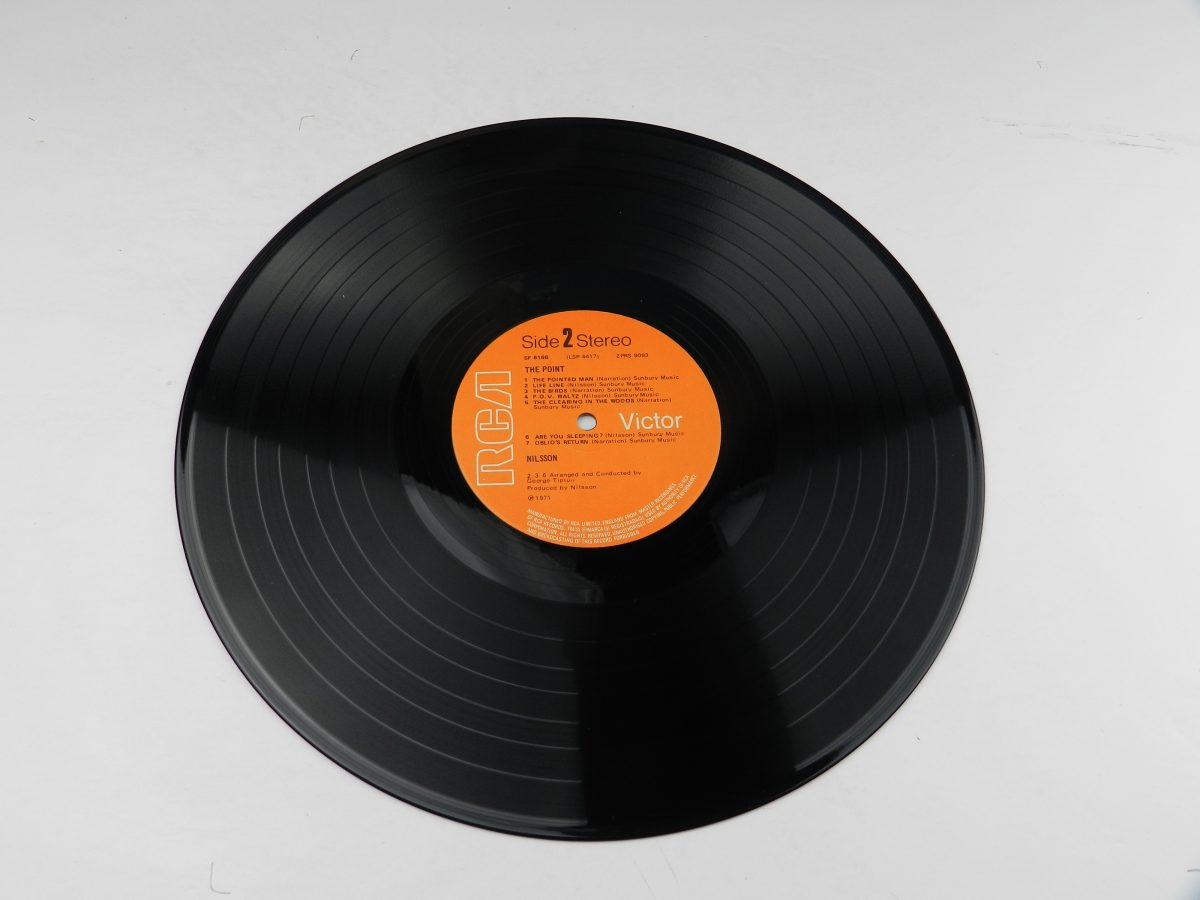 Nilsson – The Point vinyl record side B scaled