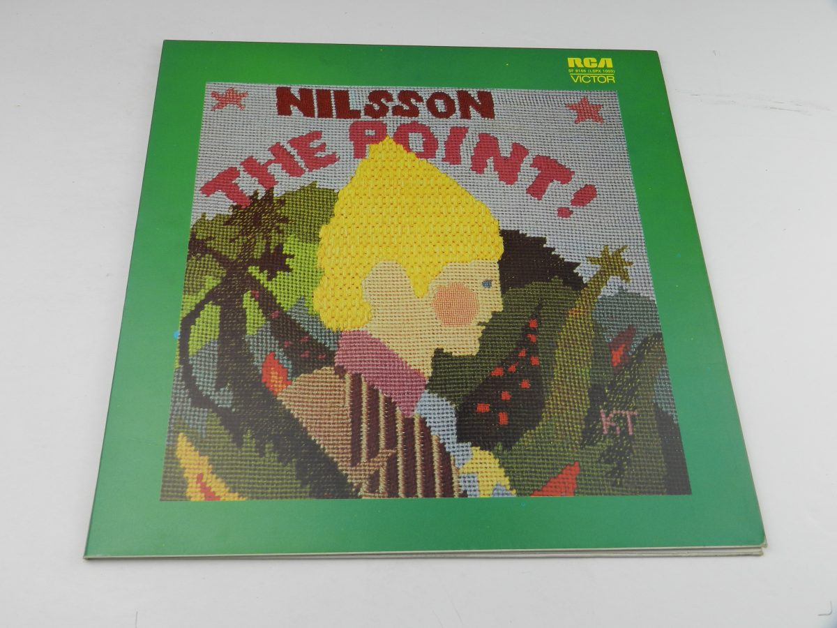 Nilsson – The Point vinyl record sleeve scaled