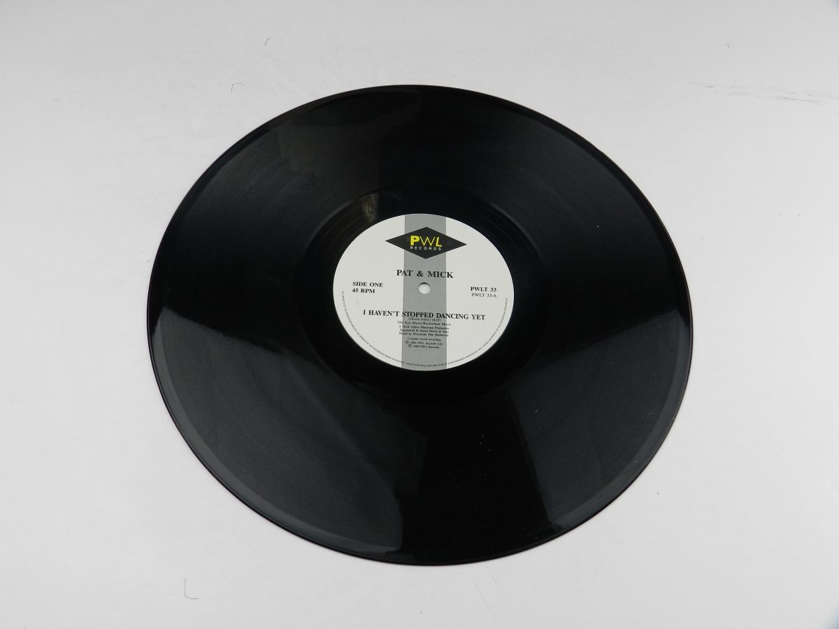 Pat Mick – I Havent Stopped Dancing Yet vinyl record side A scaled