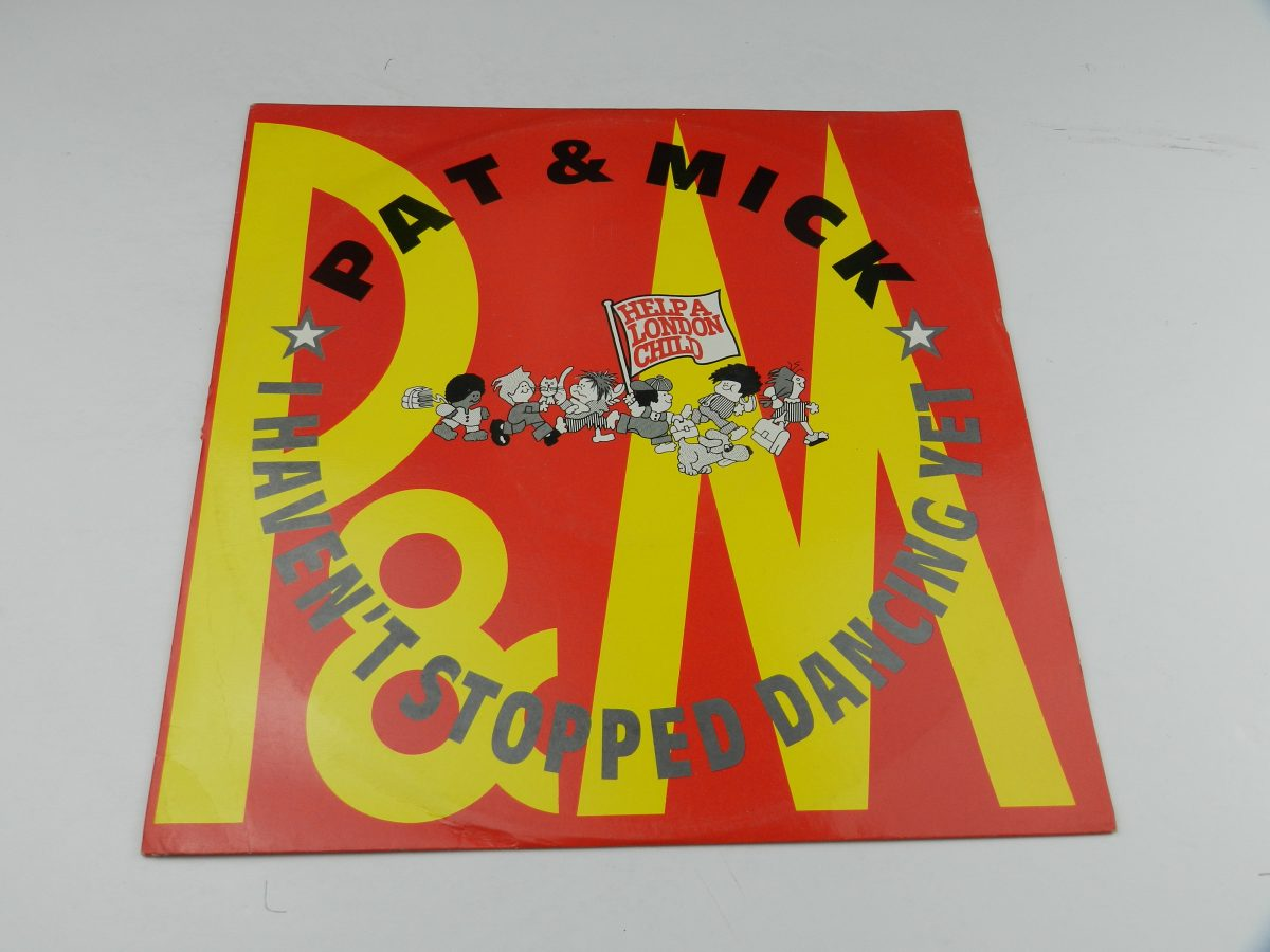Pat Mick – I Havent Stopped Dancing Yet vinyl record sleeve scaled