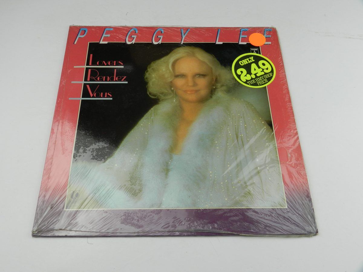 Peggy Lee – Lovers Rendez Vous vinyl record sleeve scaled