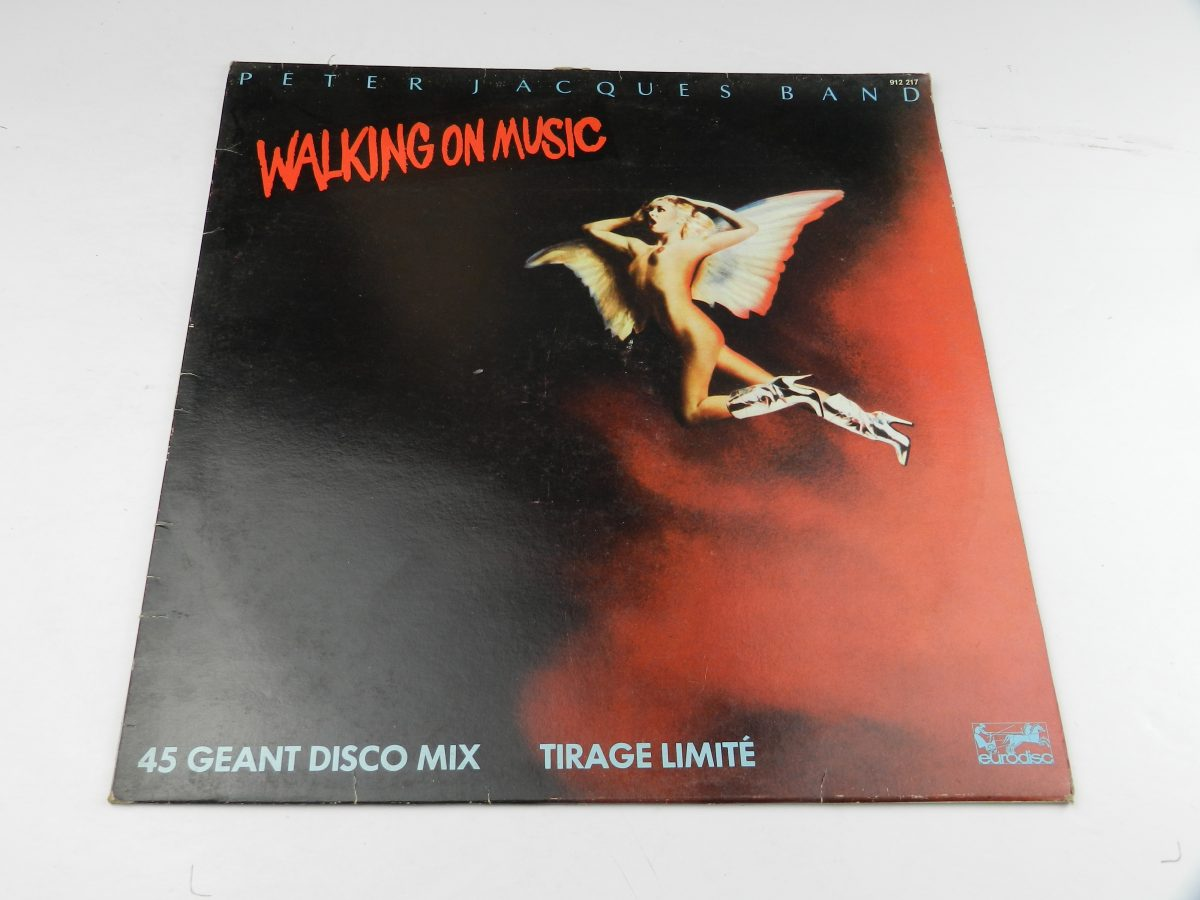 Peter Jacques Band – Walking On Music vinyl record sleeve scaled