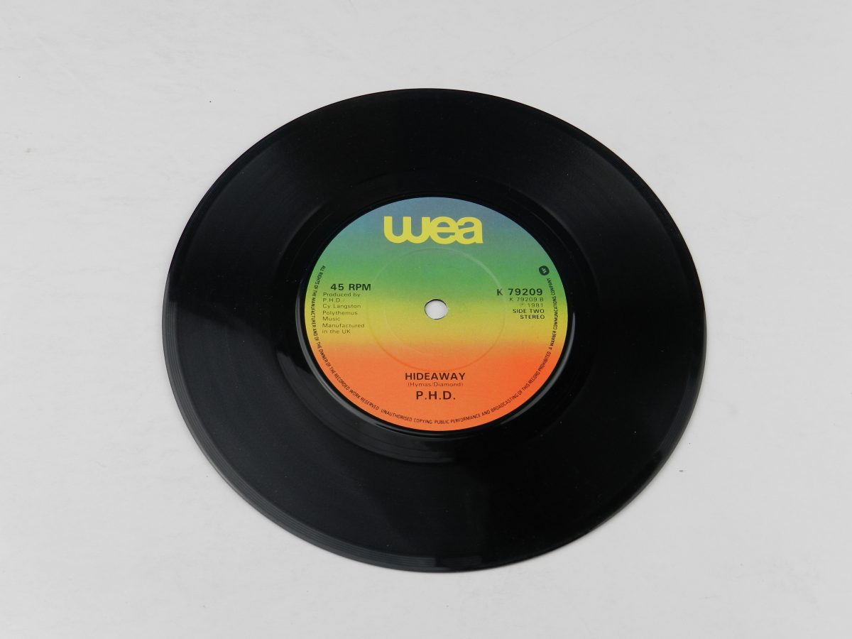 Ph.D. – I Wont Let You Down vinyl record side B scaled