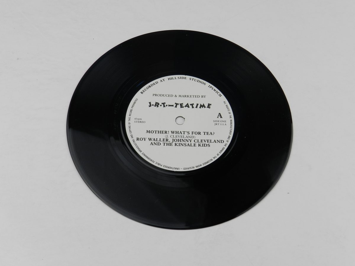 Roy Waller Johnny Cleveland And The Kinsale Kids – Mother Whats For Tea vinyl record side A scaled