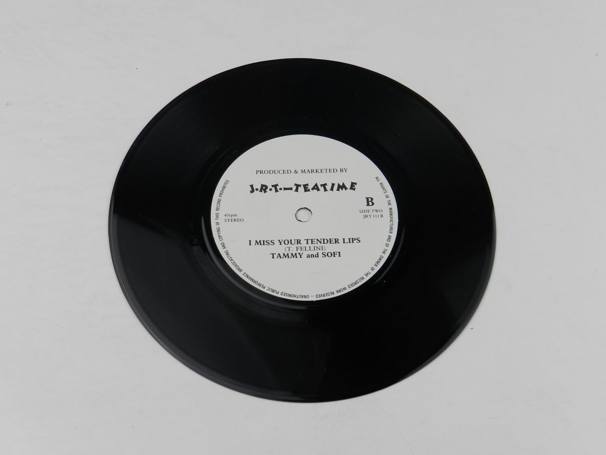 Roy Waller Johnny Cleveland And The Kinsale Kids – Mother Whats For Tea vinyl record side B scaled