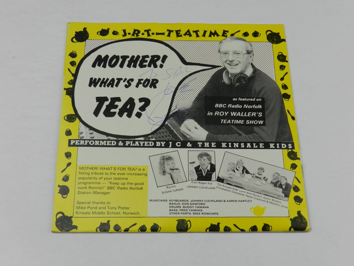 Roy Waller Johnny Cleveland And The Kinsale Kids – Mother Whats For Tea vinyl record sleeve scaled