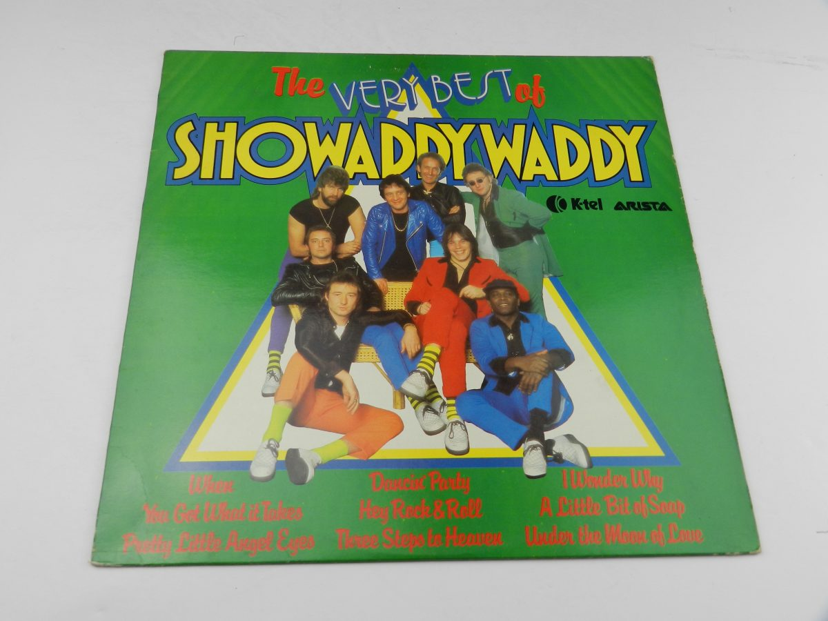 Showaddywaddy – The Very Best Of Showaddywaddy vinyl record slevee scaled