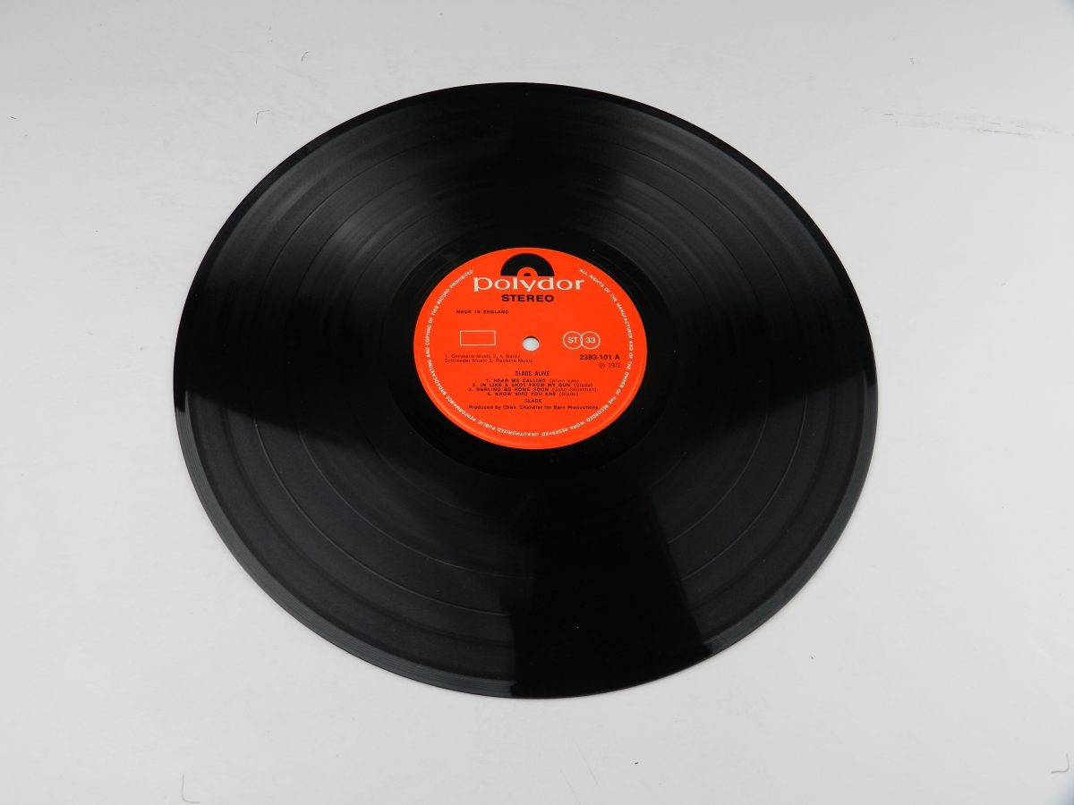 Slade – Slade Alive vinyl record side A scaled