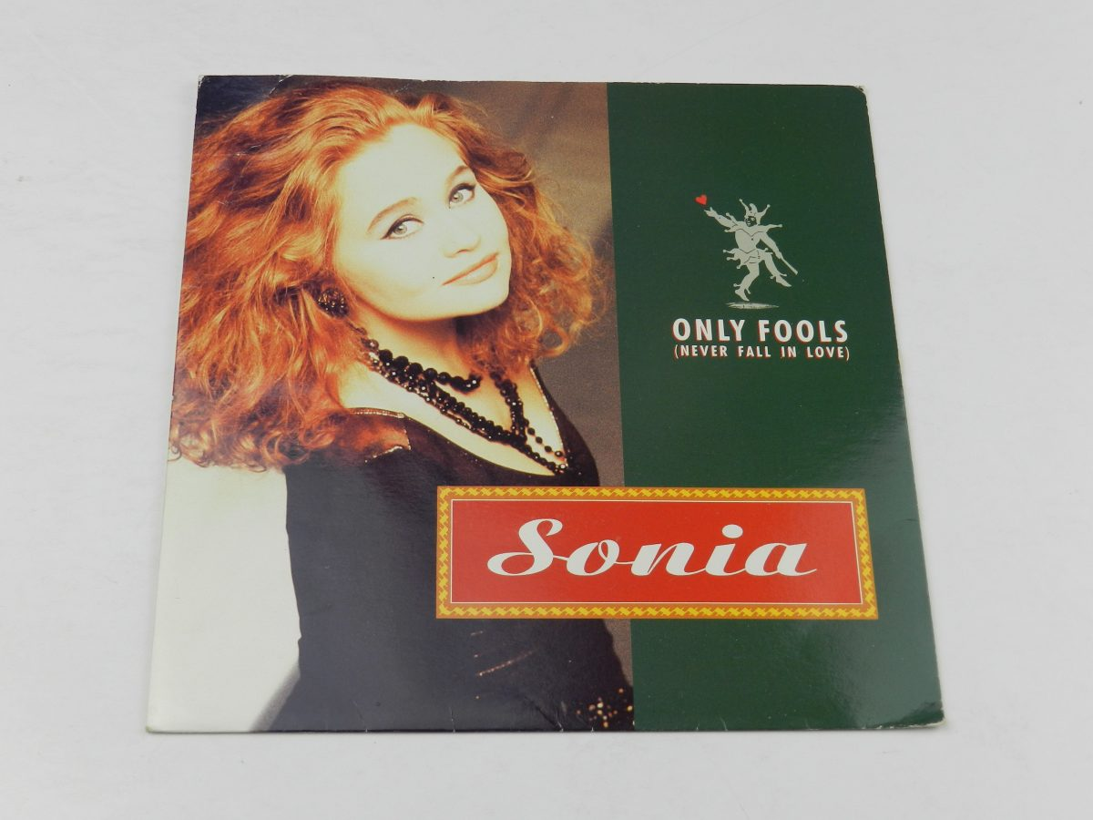 Sonia – Only Fools Never Fall In Love vinyl record sleeve scaled