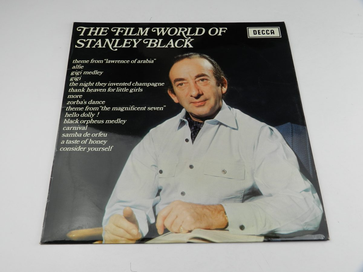 Stanley Black Conducting The London Festival Orchestra And Chorus – The Film World Of Stanley Black vinyl record sleeve scaled