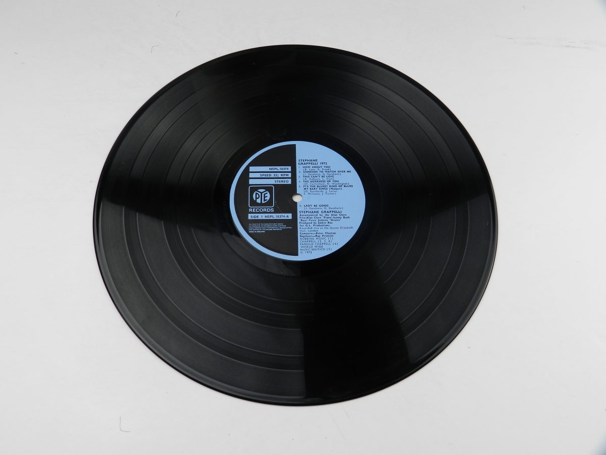 Stephane Grappelli – Stephane Grappelli 1972 Recorded Live At The Queen Elizabeth Hall London vinyl record side A scaled