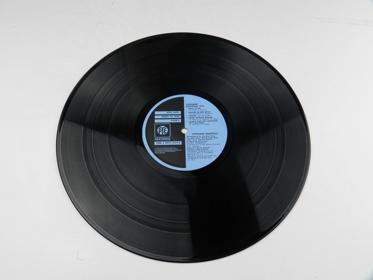 Stephane Grappelli – Stephane Grappelli 1972 Recorded Live At The Queen Elizabeth Hall London vinyl record side B scaled