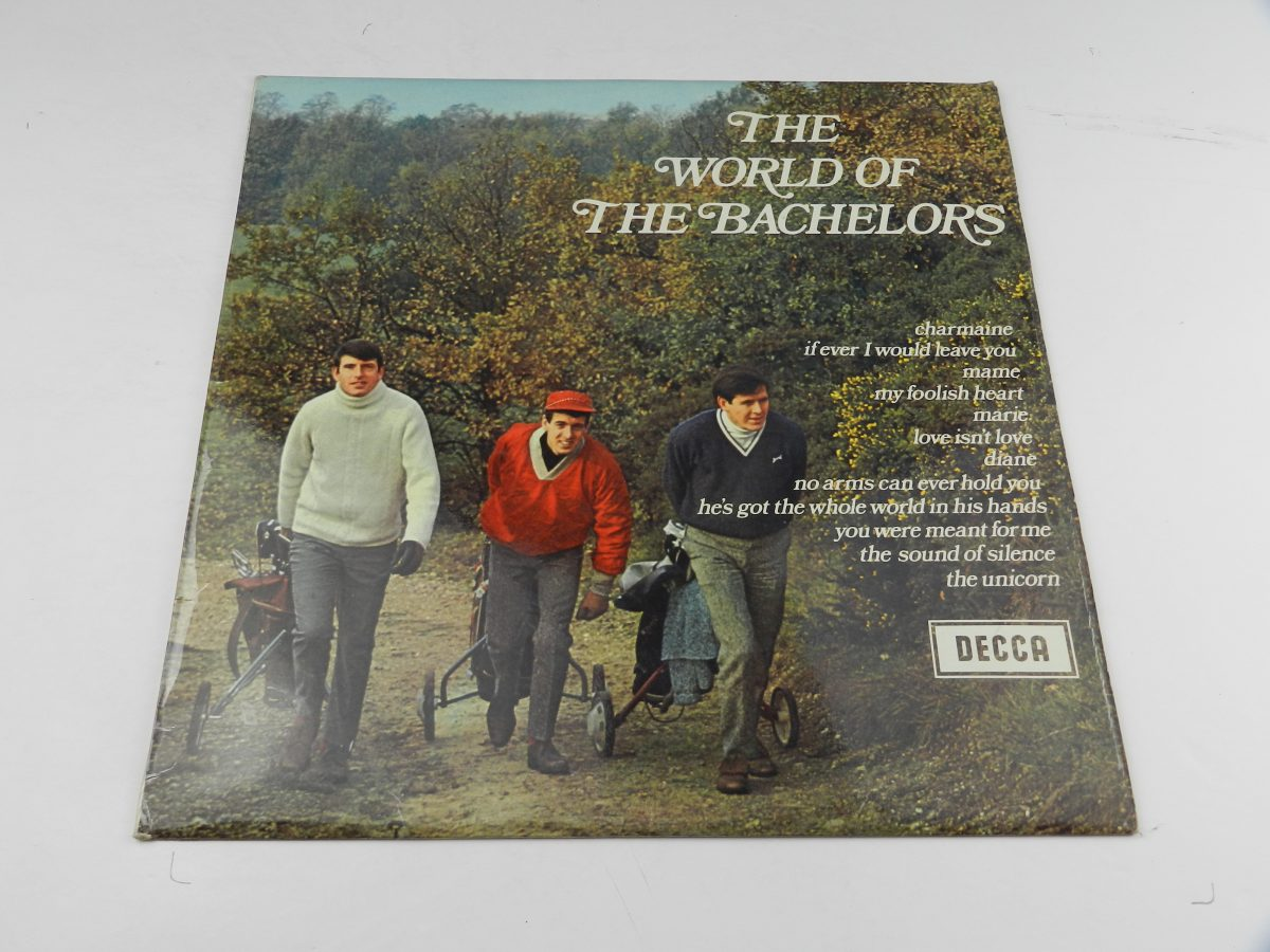 The Bachelors – The World Of The Bachelors vinyl record sleeve scaled