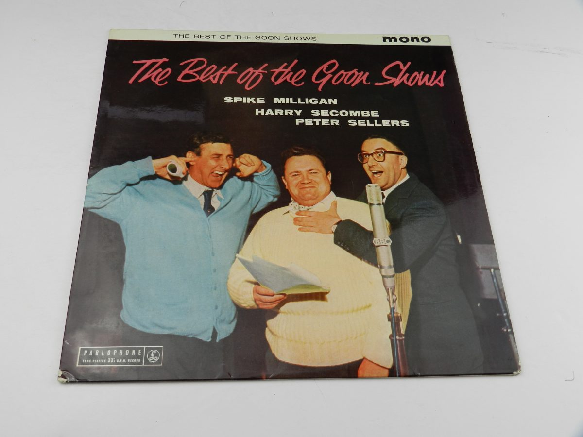 The Goons – The Best Of The Goon Shows vinyl record sleeve scaled