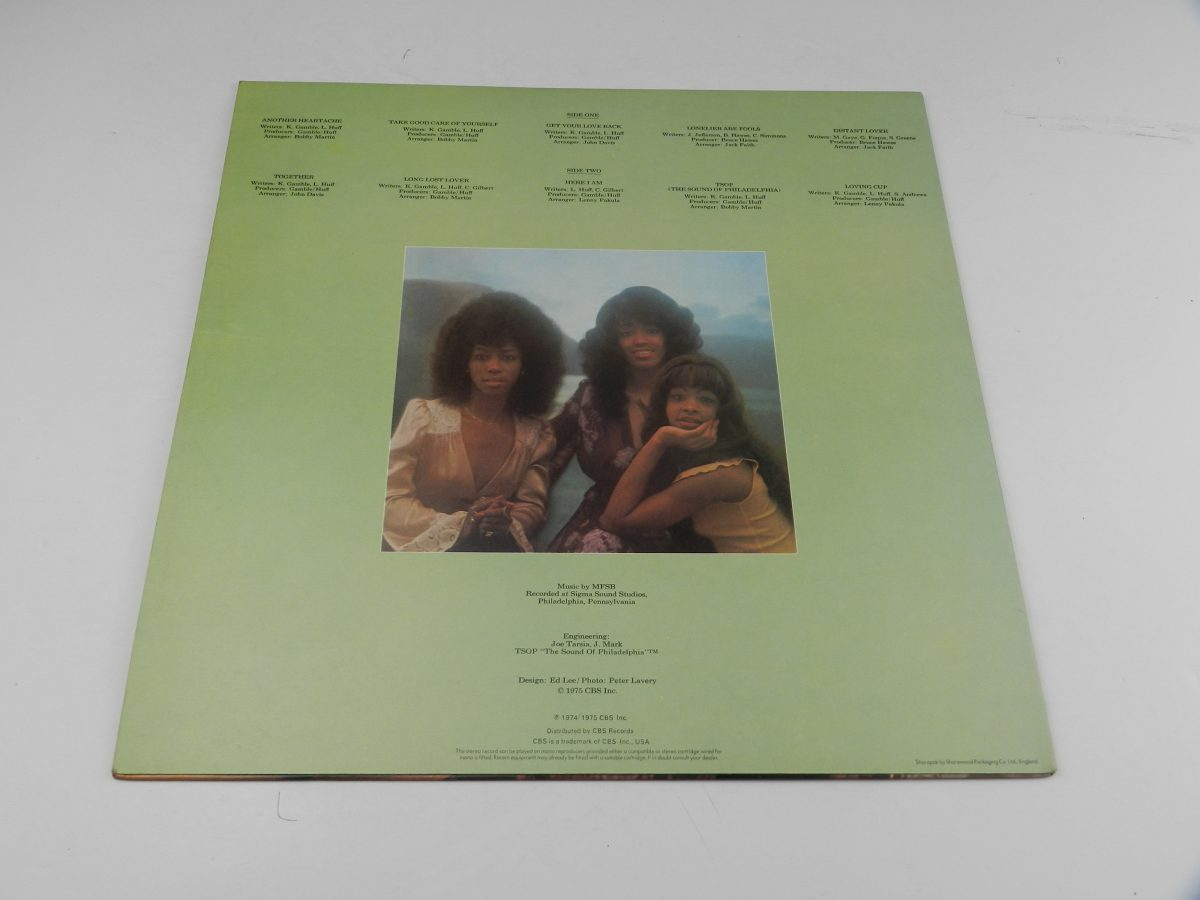 The Three Degrees – Take Good Care Of Yourself vinyl record sleeve rear scaled