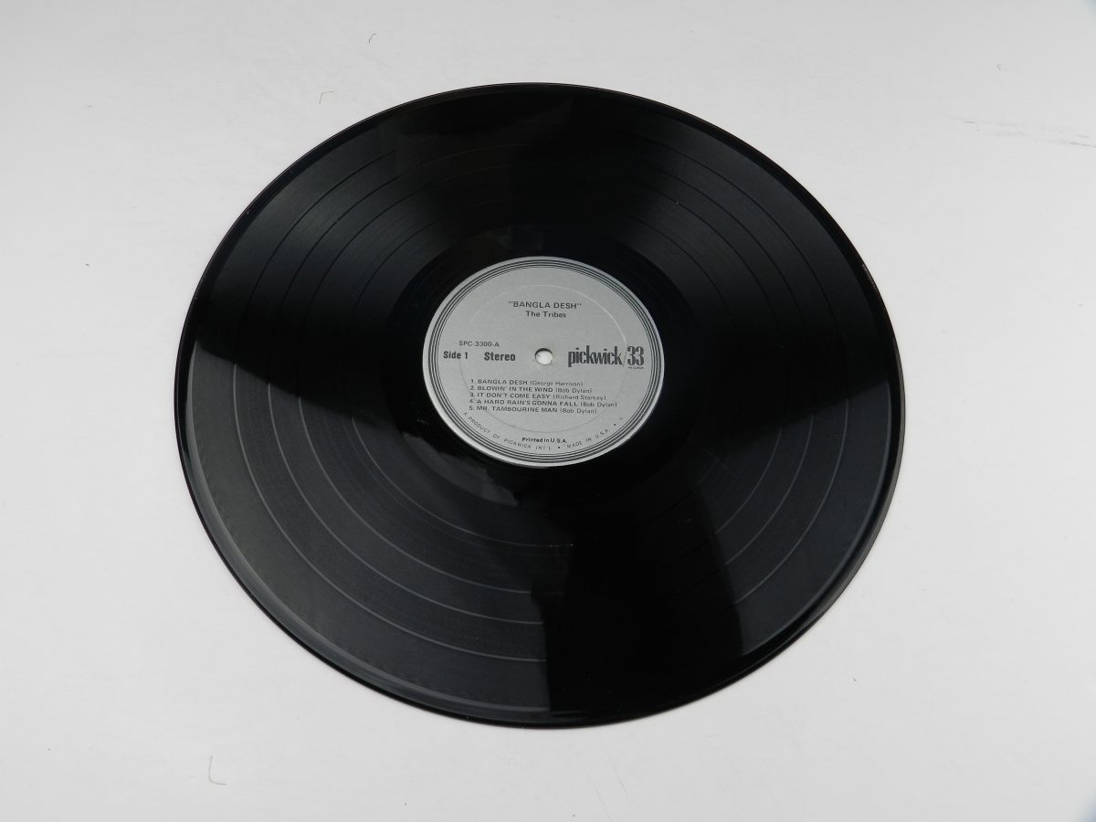 The Tribe – Bangla Desh vinyl record side A scaled
