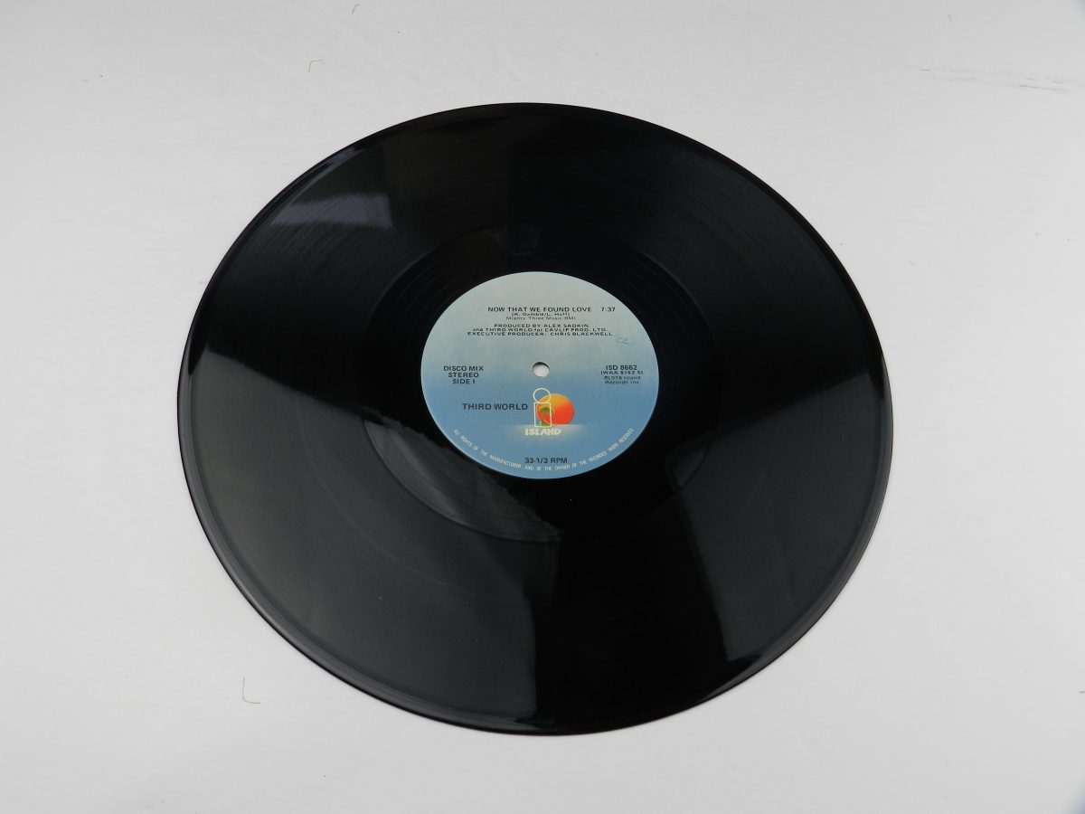 Third World Now That We Found Love vinyl record side A scaled