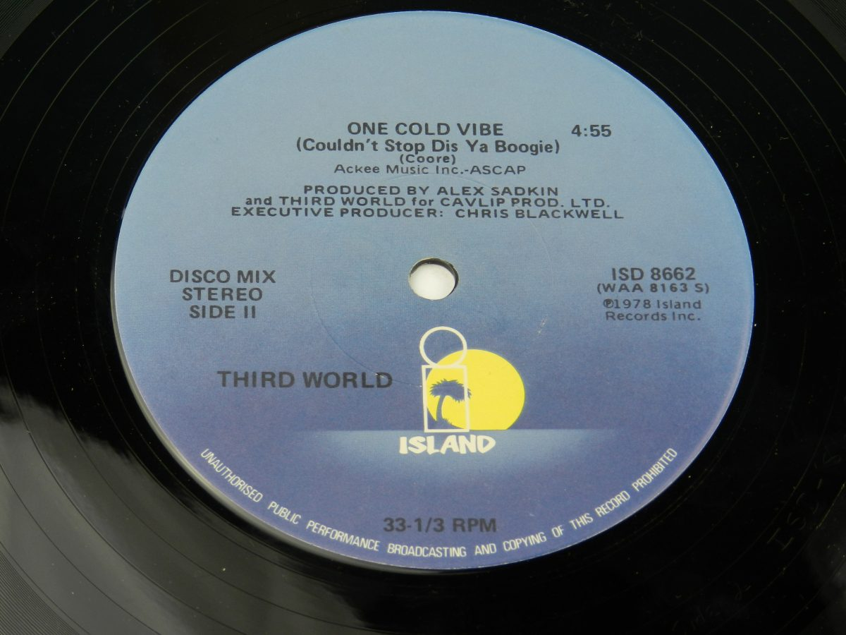 Third World Now That We Found Love vinyl record side B label scaled