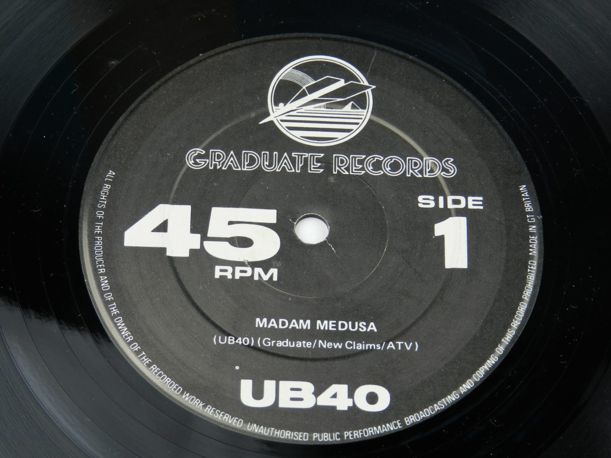 UB40 – Signing Off vinyl record 2 side A label scaled