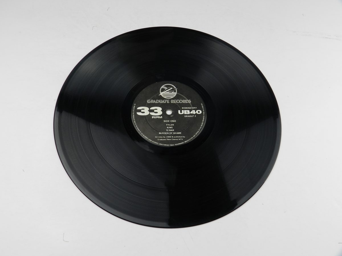 UB40 – Signing Off vinyl record side A scaled