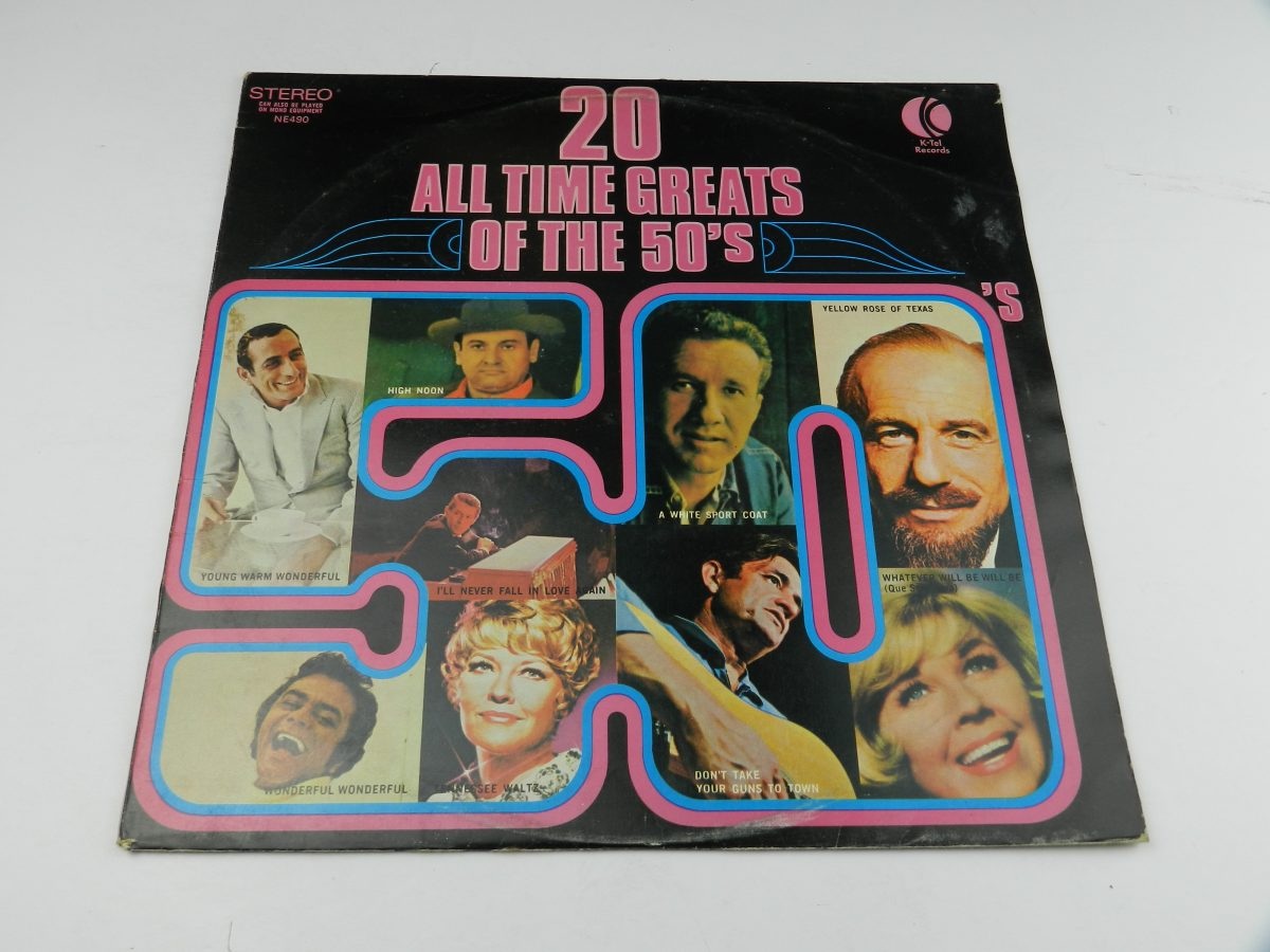 Various – 20 All Time Greats Of The 50s vinyl record sleeve scaled