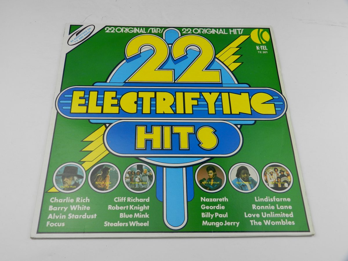 Various – 22 Electrifying Hits vinyl record sleeve scaled