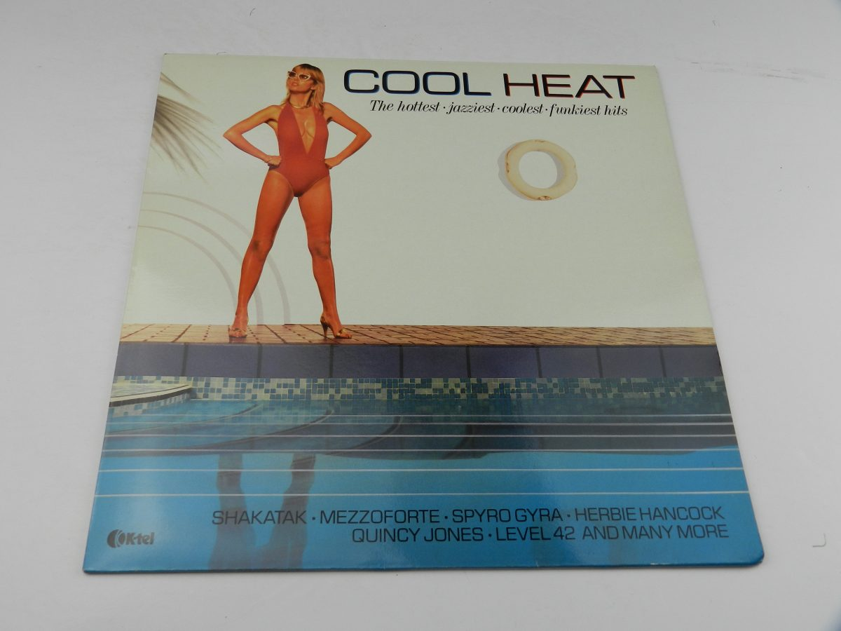 Various – Cool Heat The Hottest • Jazziest • Coolest • Funkiest Hits vinyl record sleeve scaled