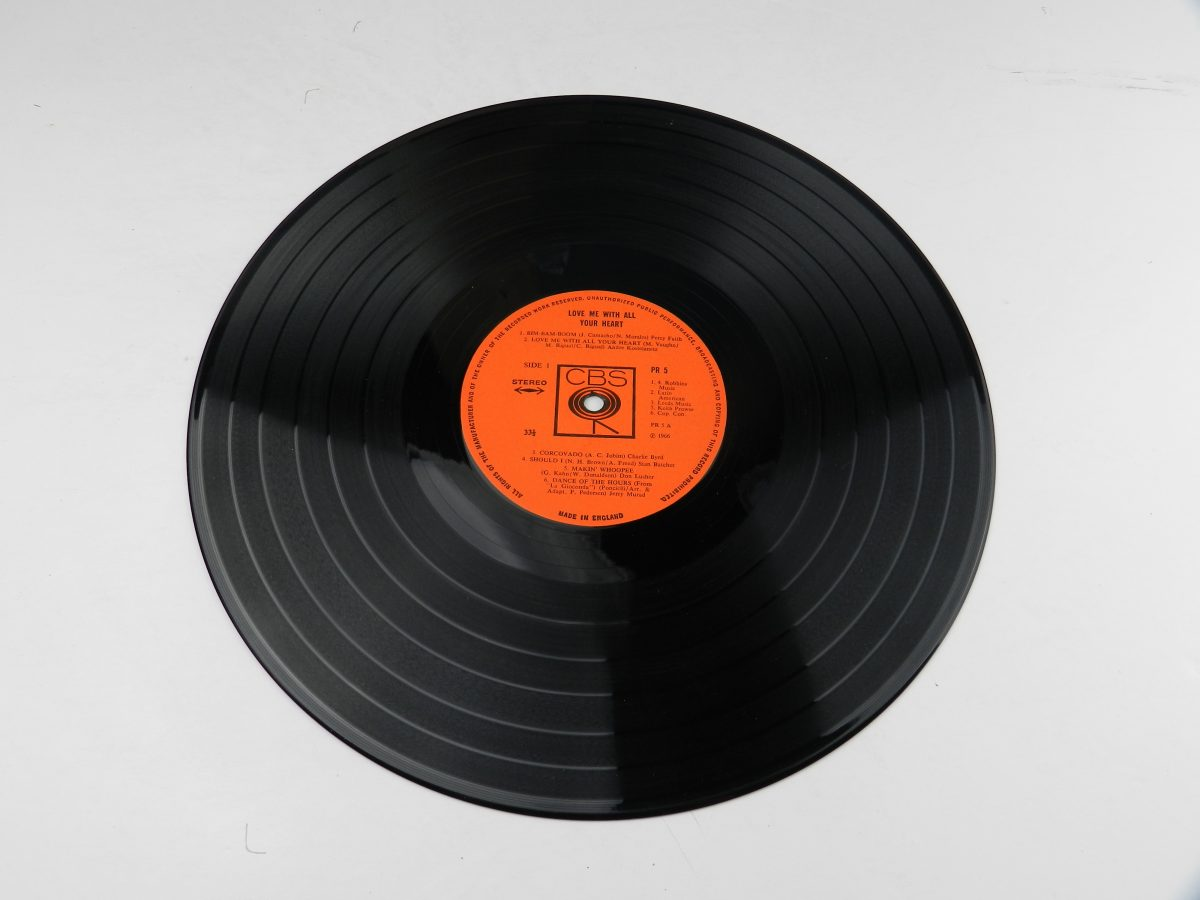 Various – Love Me With All Of Your Heart vinyl record side A scaled