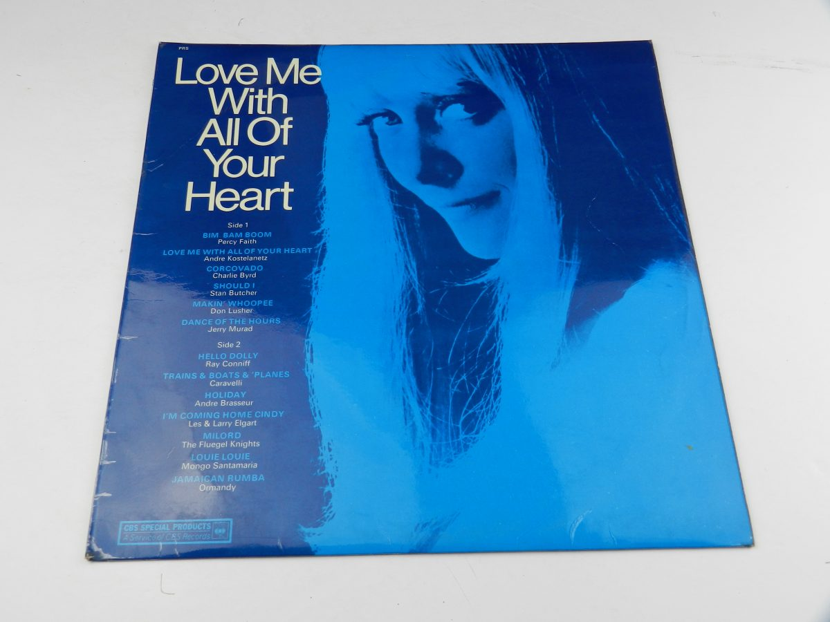 Various – Love Me With All Of Your Heart vinyl record sleeve scaled