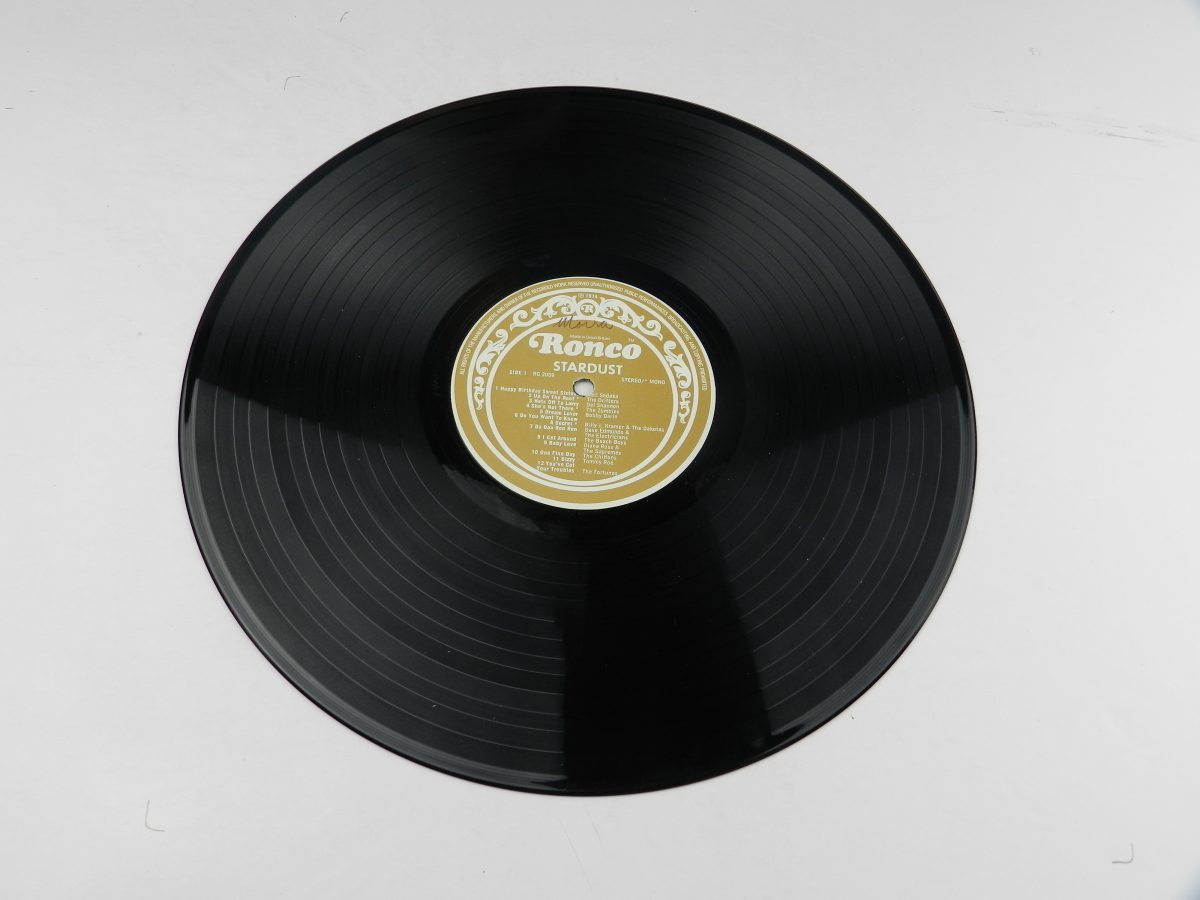 Various – Stardust 44 Original Hits From The Sound Track Of The Film vinyl record 1 side A scaled
