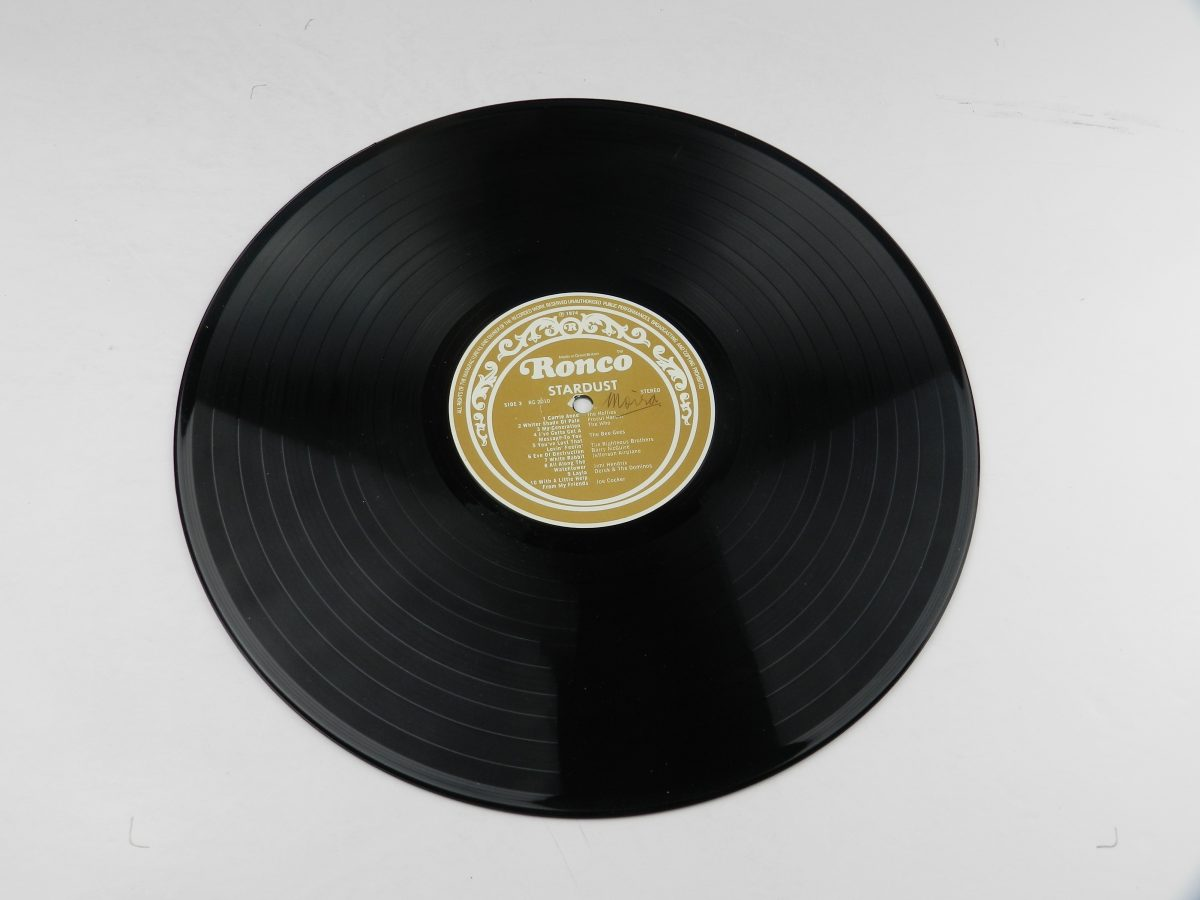 Various – Stardust 44 Original Hits From The Sound Track Of The Film vinyl record 2 side A scaled