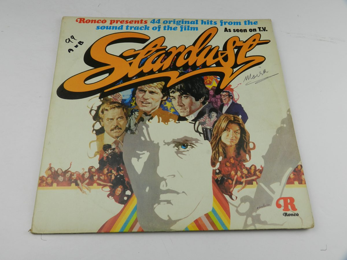 Various – Stardust 44 Original Hits From The Sound Track Of The Film vinyl record sleeve scaled